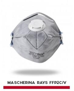 MASCHERINA RAYS FFP2C-V