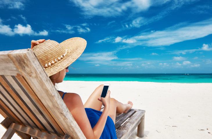 I consigli privacy per le vacanze, droni in spiaggia con cautela